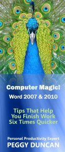 eBooklet, Word 2007 & 2010 by Peggy Duncan